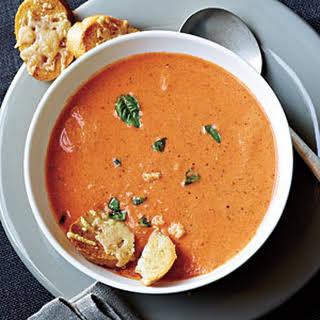 Tomato-Basil Soup.