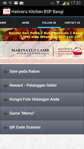 Hatinie's Kitchen BSP Bangi