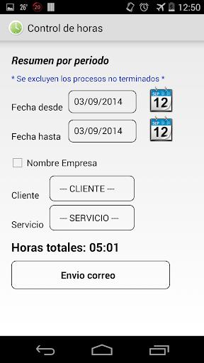 【免費生產應用App】Control de horas-APP點子