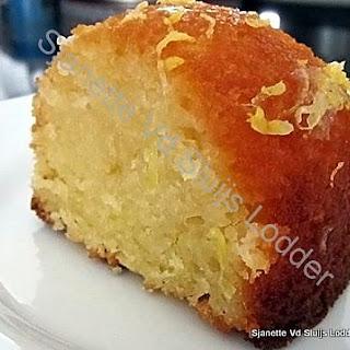 Moist Orange or Lemon Pound / Loaf Cake