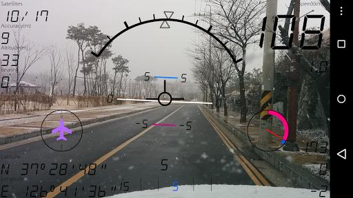 航空計器 - 車速表 Pro