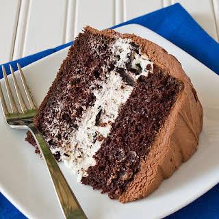 Chocolate Oreo Cream Cake.