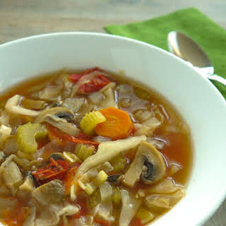 Fat Free Vegan Cabbage Soup.