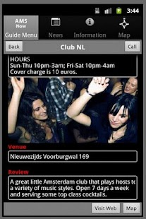 Amsterdam Club Guide- screenshot thumbnail