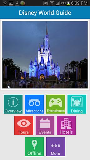 Disneyworld Offline Guide