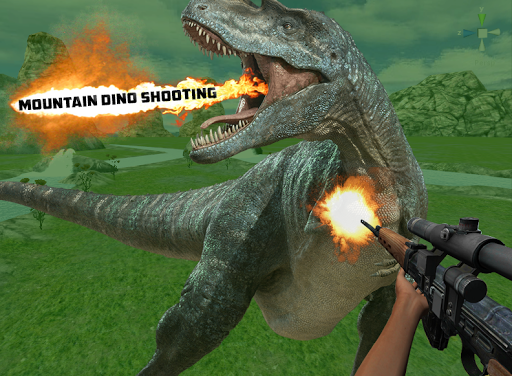 Mountain Dino Shooting