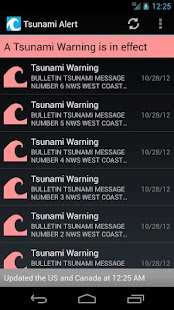 Tsunami Alert - screenshot thumbnail