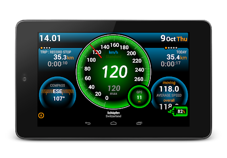Ulysse Speedometer Pro - screenshot thumbnail