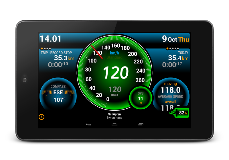 Ulysse Speedometer Pro Screenshot 12