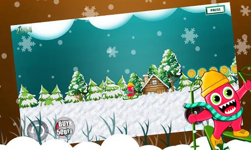 Monster Ski : Winter Skiing