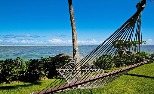 Lean back and enjoy the gentle breezes of Fiji.