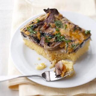 Cheesy Mushroom Casserole.