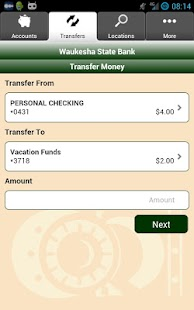 Waukesha State Bank Mobile - screenshot thumbnail