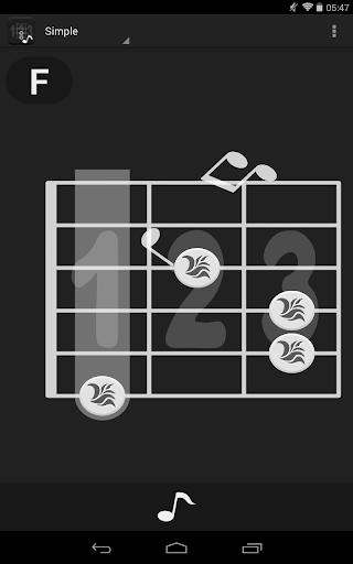 Em - Guitar chord dictionary