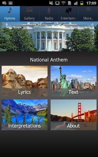 National Anthem United States