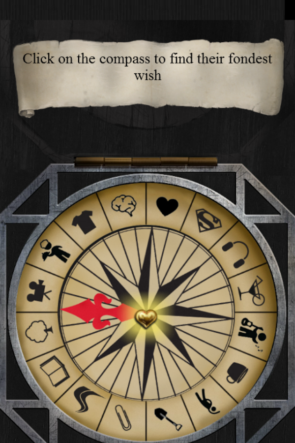 The compass of wishes- screenshot