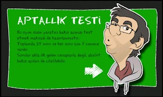 Screenshot of Aptallık Testi