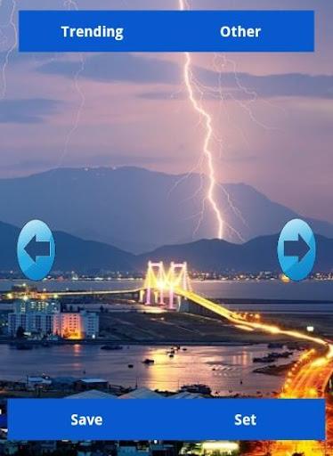 【免費個人化App】Lightning Wallpapers-APP點子