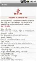 Screenshot of Ticket & Flight Airlines