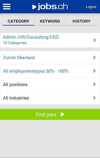 jobs.ch - Jobs in Switzerland