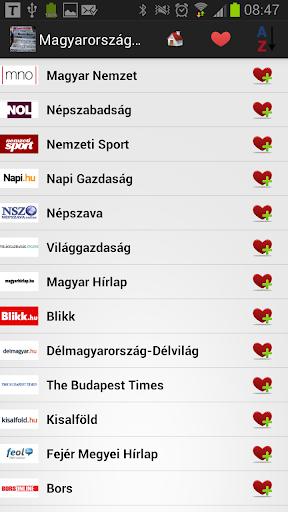 匈牙利报纸和新闻