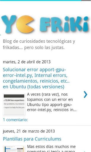 Yo Friki Blog