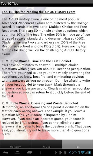 how many essays are on the ap us history exam Follow 3 study tips to prepare for the ap history exam the ap us history test is weighted between essay and multiple-choice questions.