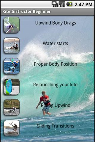 Kitesurf Instructor: Beginner- screenshot