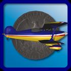 Coin Flight Retro icon