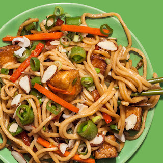 "Fried Tofu ""Takeout"" Noodles"
