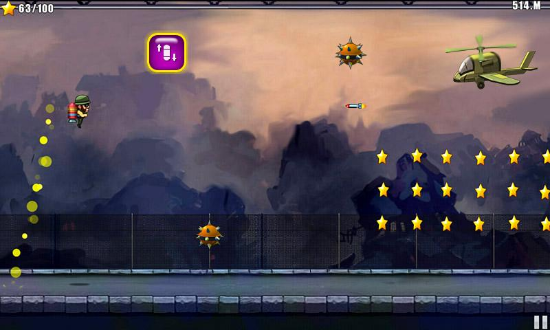Jetpack Soldier - screenshot