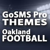 GoSMS Oakland Football Theme