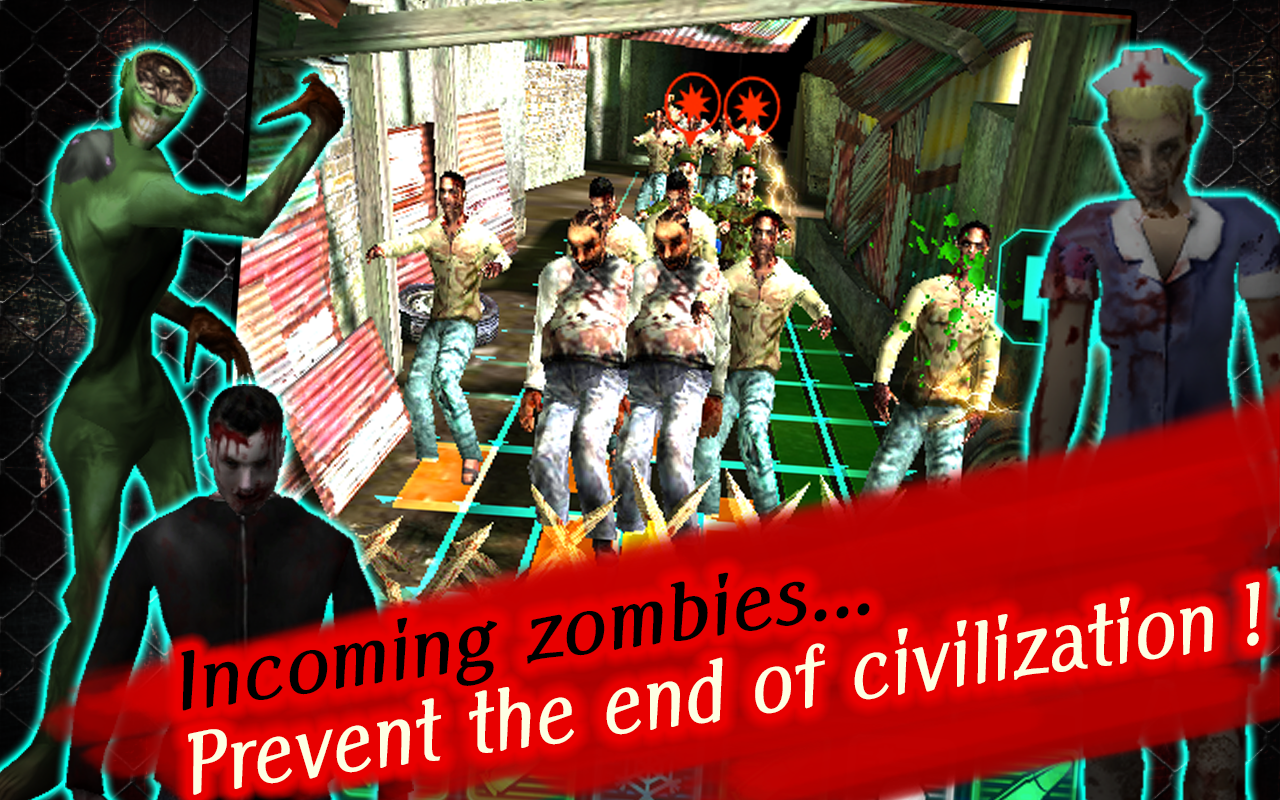 Catastrophic Zombies! (Puzzle)- screenshot