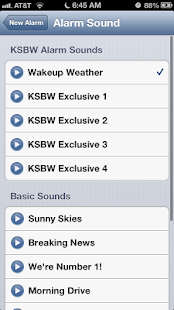Alarm Clock KSBW 8 Monterey - screenshot thumbnail
