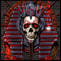 Undead Pharaoh Skull Wallpaper icon