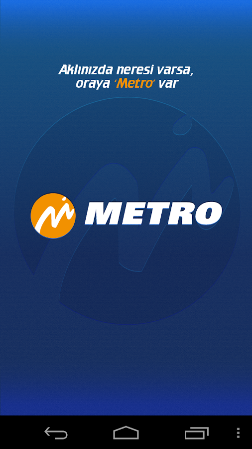 MetroTurizm Online Ticket Sale- screenshot
