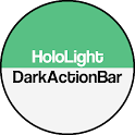 Dark ActionBar Green CM Theme icon