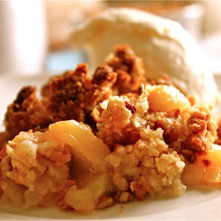 Peach Crumble.
