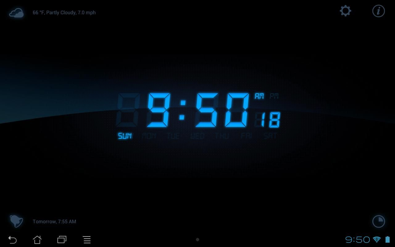 My Alarm Clock Free - screenshot