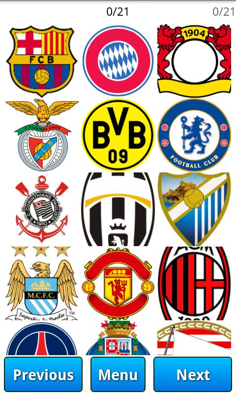 Logo Quiz - Football clubs- screenshot