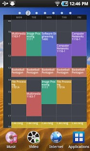 A++ Timetable - screenshot thumbnail