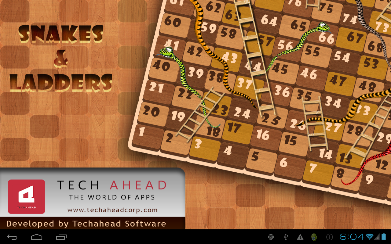 Snakes&Ladders - screenshot