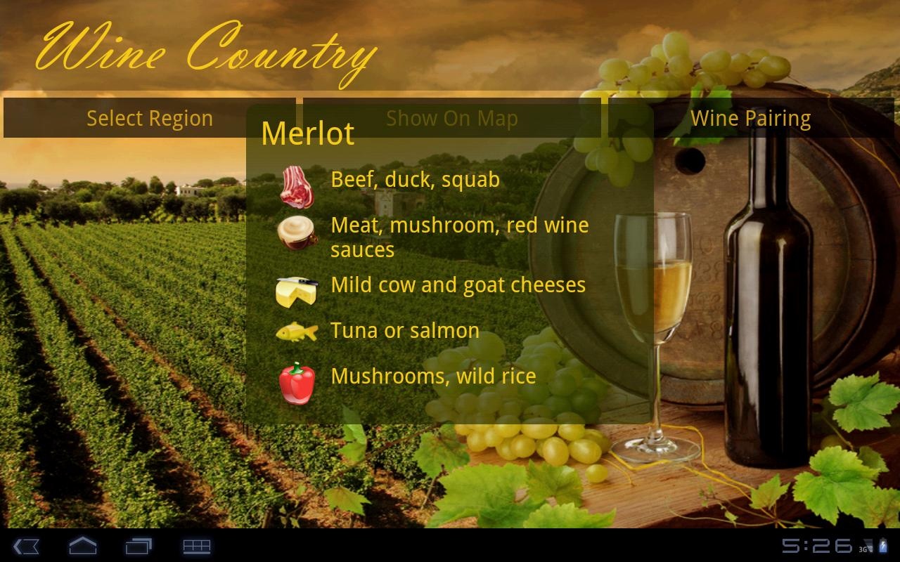 Wine Country- screenshot