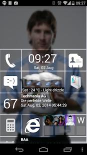 Home8 like Windows 8 launcher - screenshot thumbnail