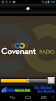 Screenshot of Covenant Radio