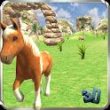 My Cute Pony Horse Simulator icon