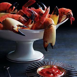 Deep-Sea Specimens with Devilishly Hot Cocktail Sauce