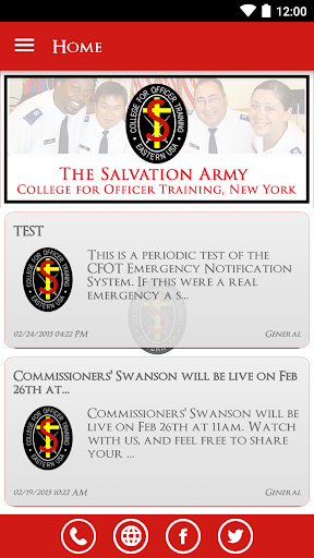 Salvation Army CFOT