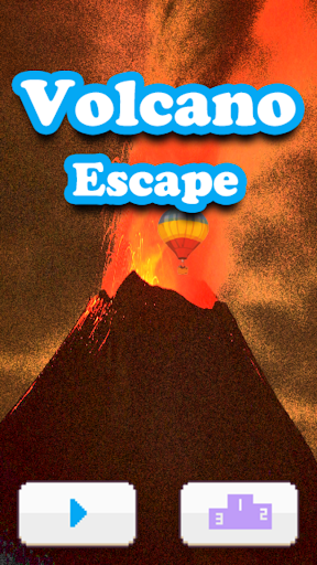 Volcano escape Air balloon