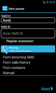 SMS Parser Free - screenshot thumbnail